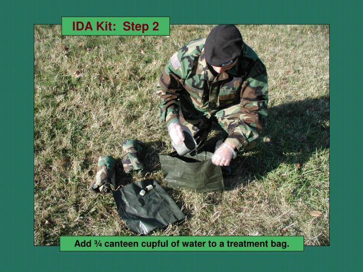 IDA Kit:  Step 2