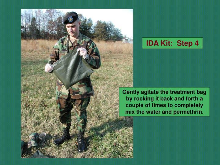IDA Kit:  Step 4