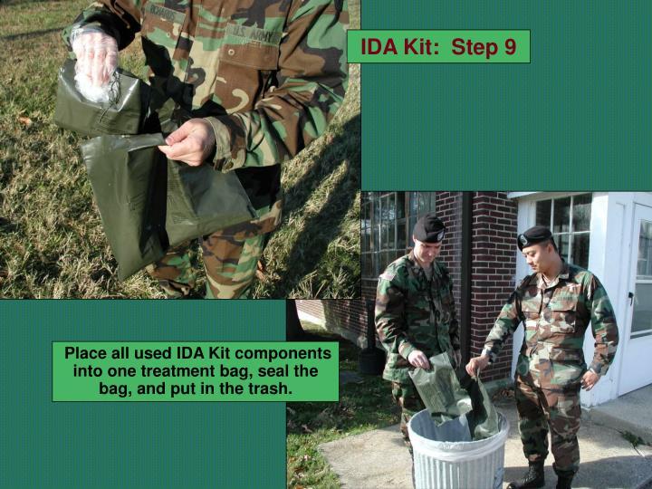 IDA Kit:  Step 9