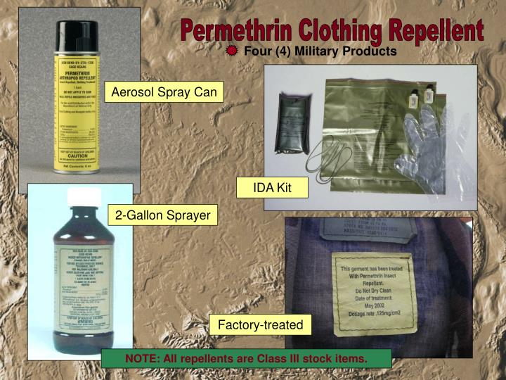 Permethrin Clothing Repellent