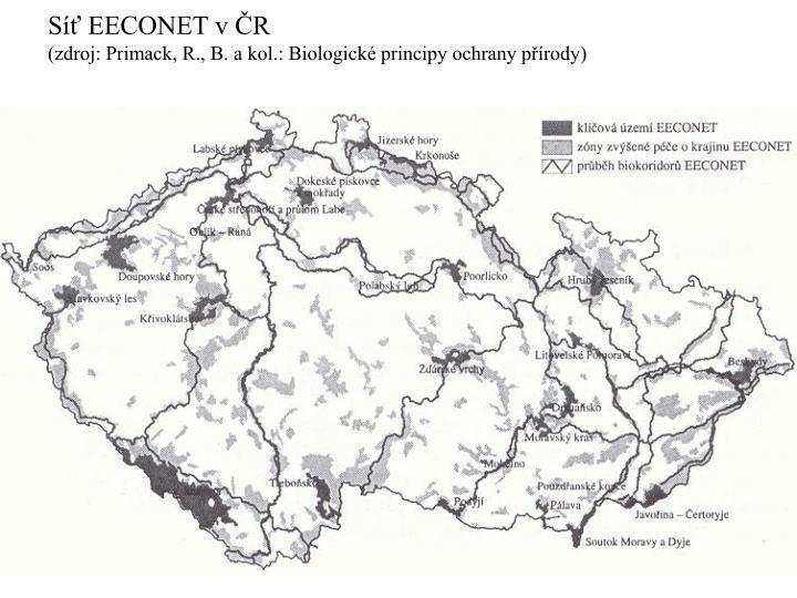 Síť EECONET v ČR