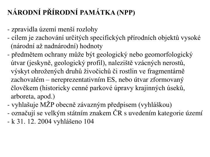 NRODN PRODN PAMTKA (NPP)