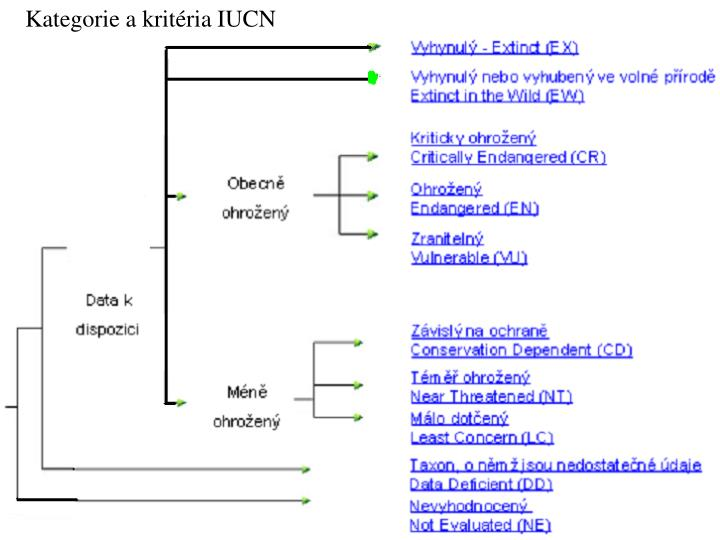 Kategorie a kritéria IUCN