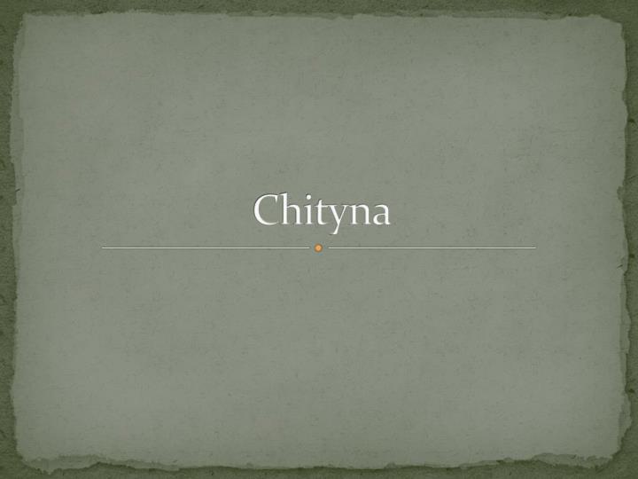 Chityna