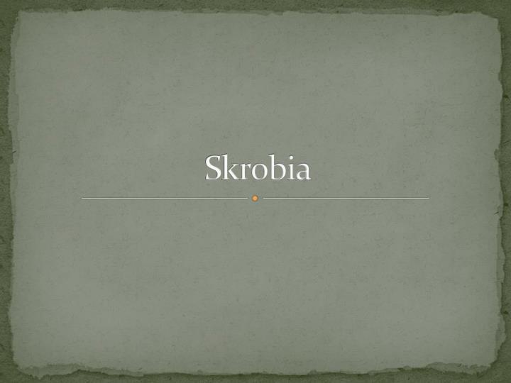 Skrobia