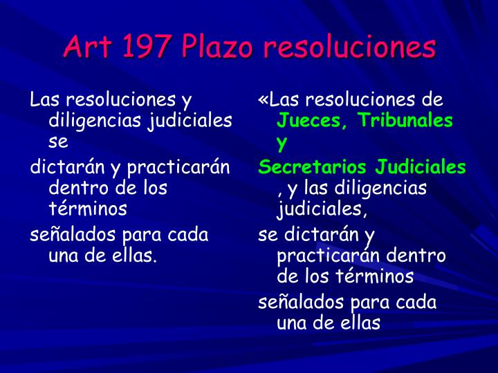 «Las resoluciones de