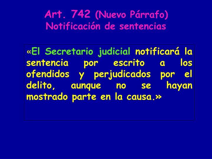 Art. 742