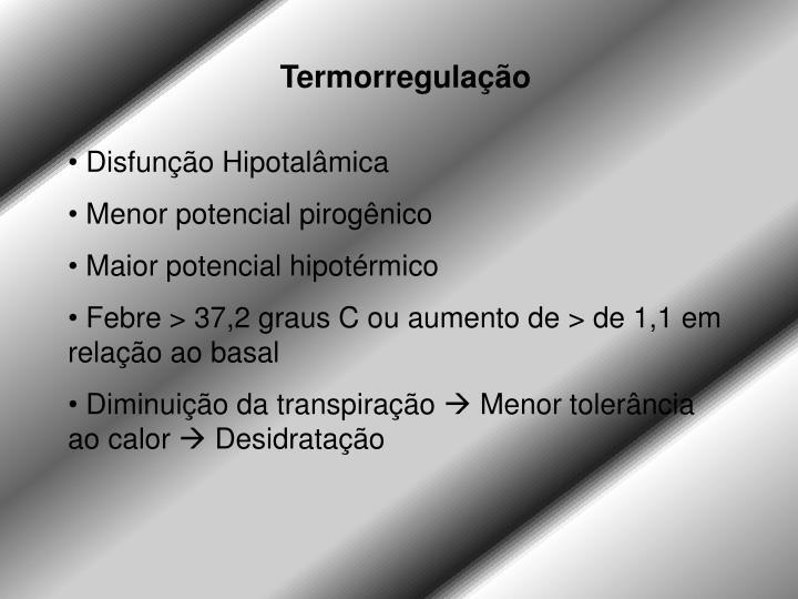 Termorregulação