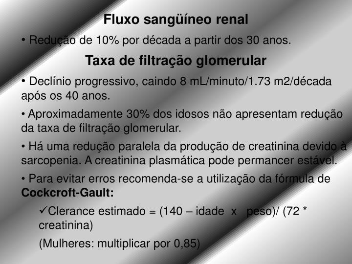 Fluxo sangüíneo renal