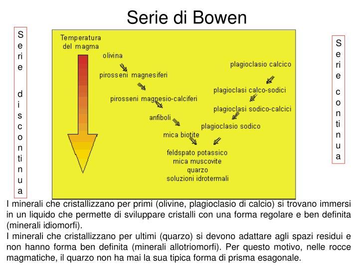 Serie di Bowen