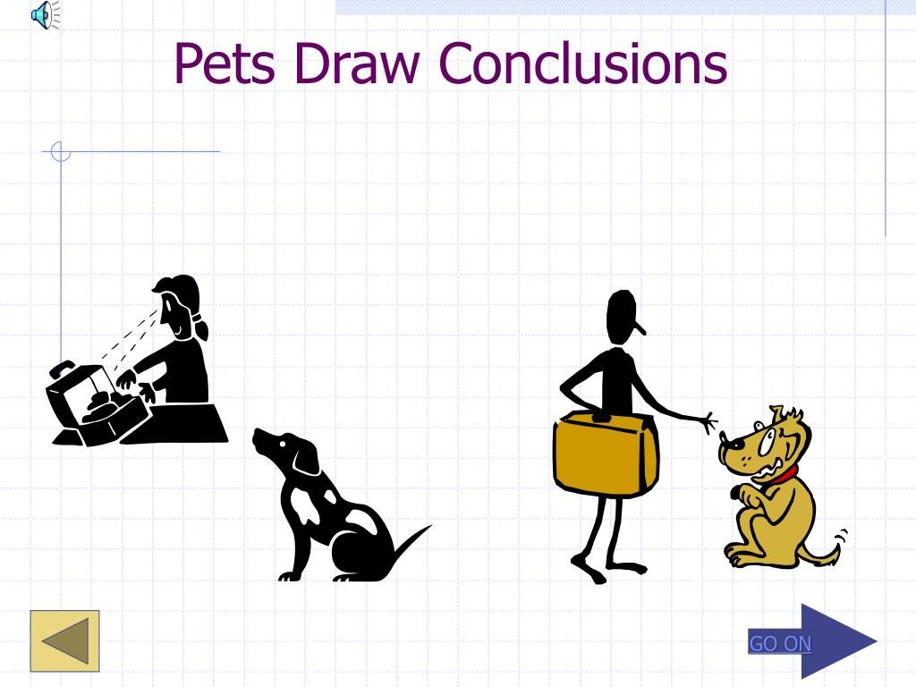 Pets Draw Conclusions