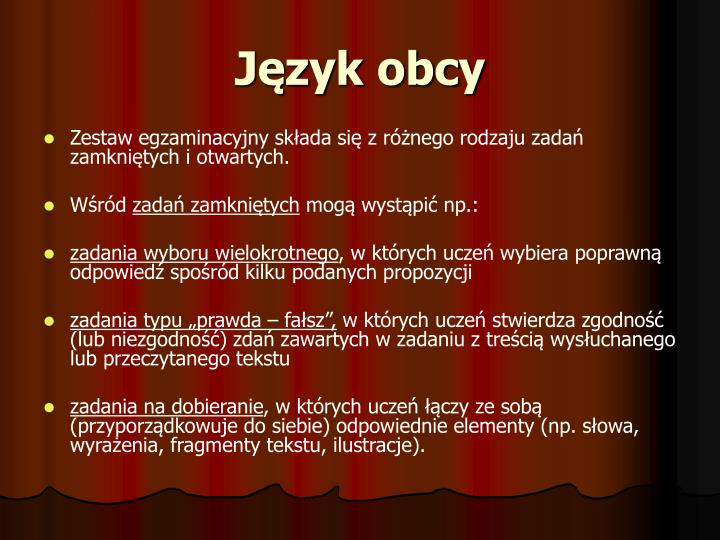 Język obcy