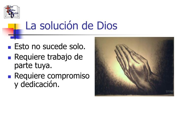 La solución de Dios