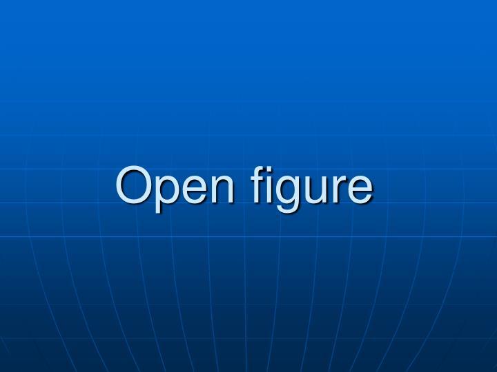 Open figure