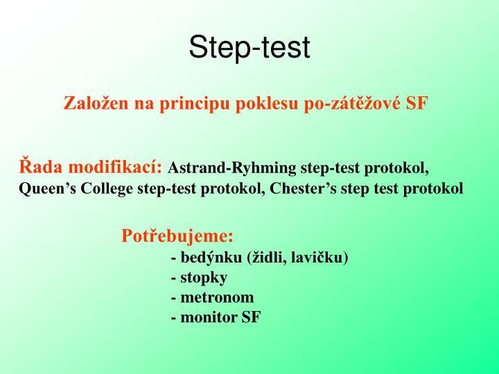 Step-test