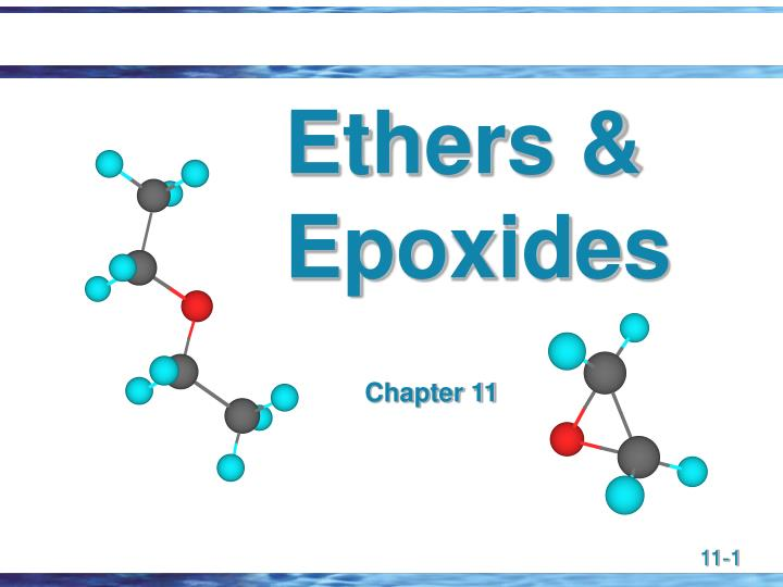 Ethers epoxides