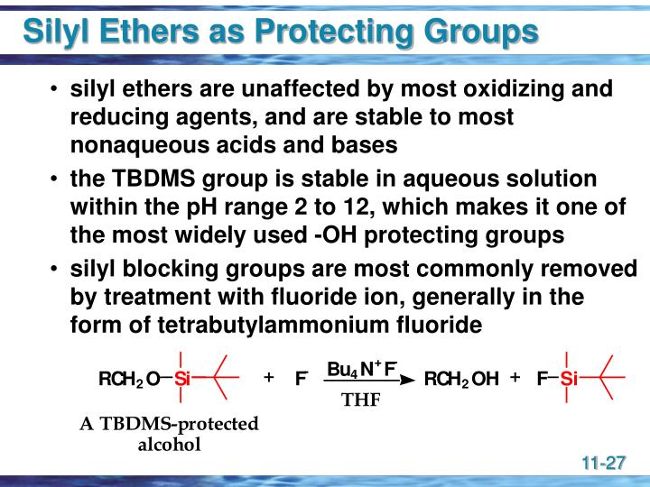 Silyl Ethers as Protecting Groups