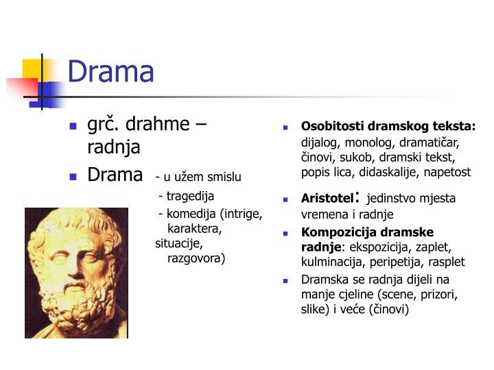 grč. drahme – radnja