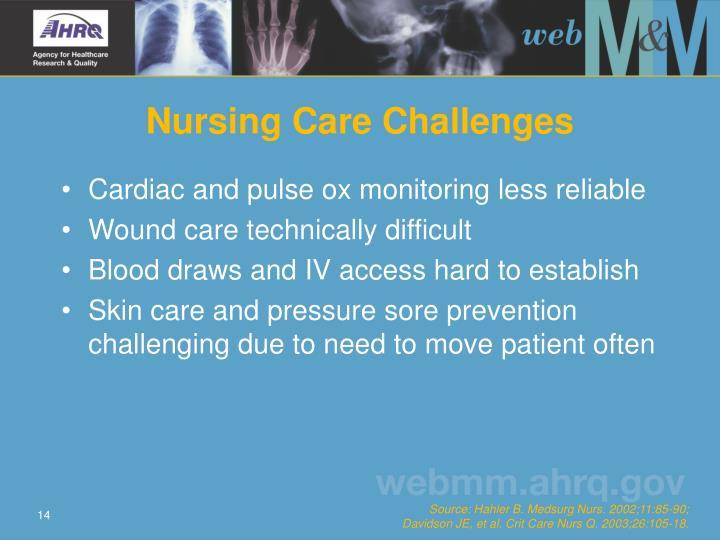 Nursing Care Challenges
