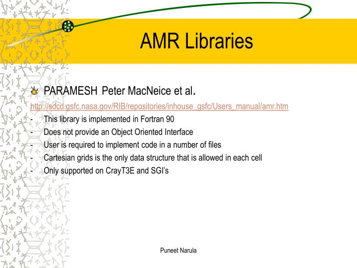 AMR Libraries