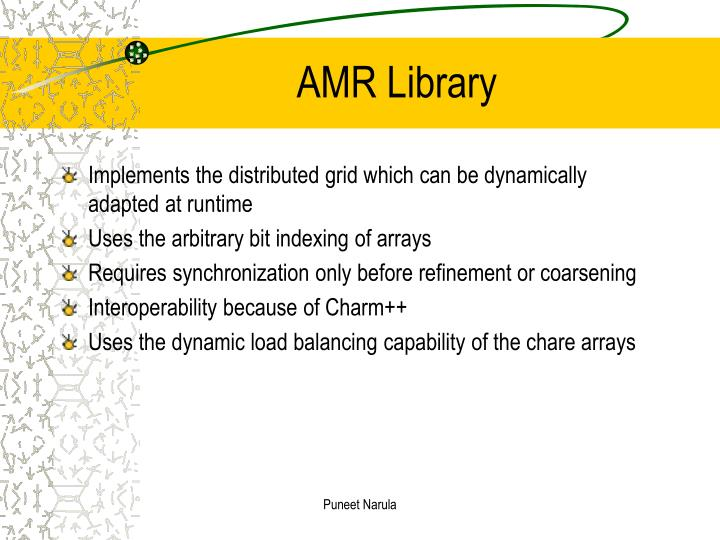 Amr library
