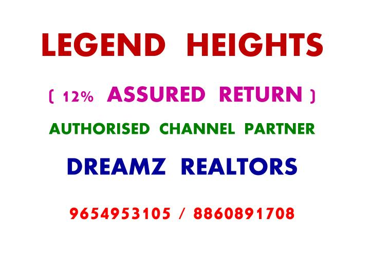 LEGEND  HEIGHTS