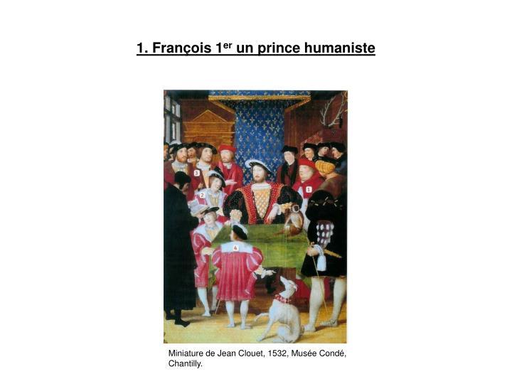 1. François 1