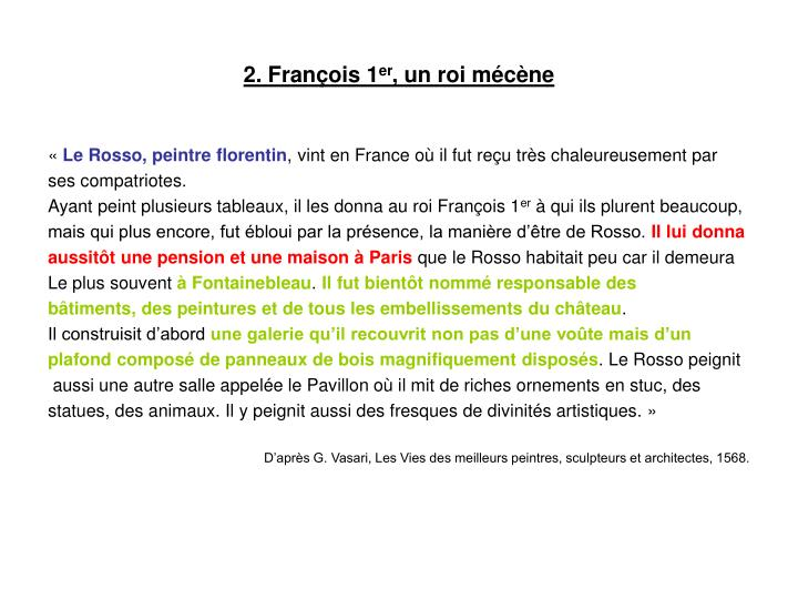 2. François 1