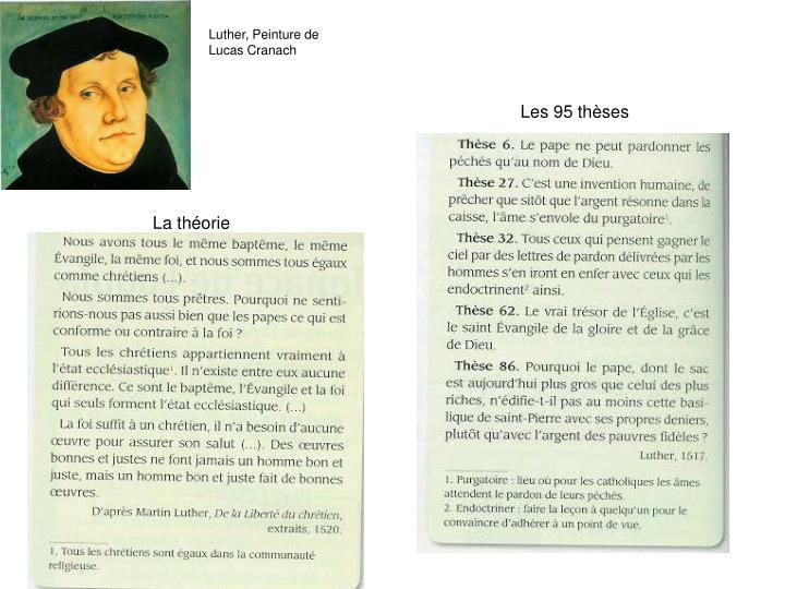 Luther, Peinture de Lucas Cranach