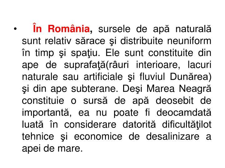 În România