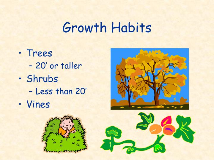 Growth Habits