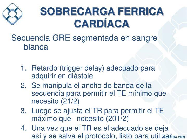 SOBRECARGA FERRICA CARDÍACA
