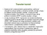 transfer koristi1