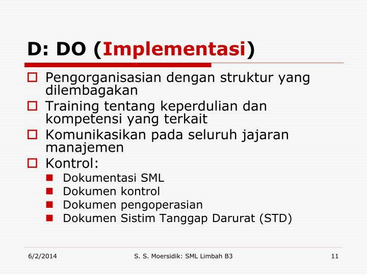 D: DO (