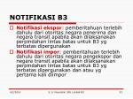 notifikasi b3