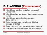 p planning perencanaan1