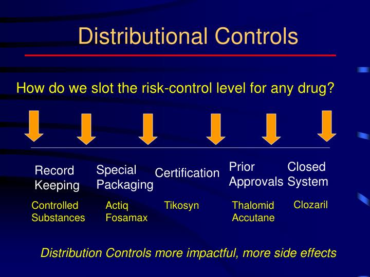 Distributional Controls