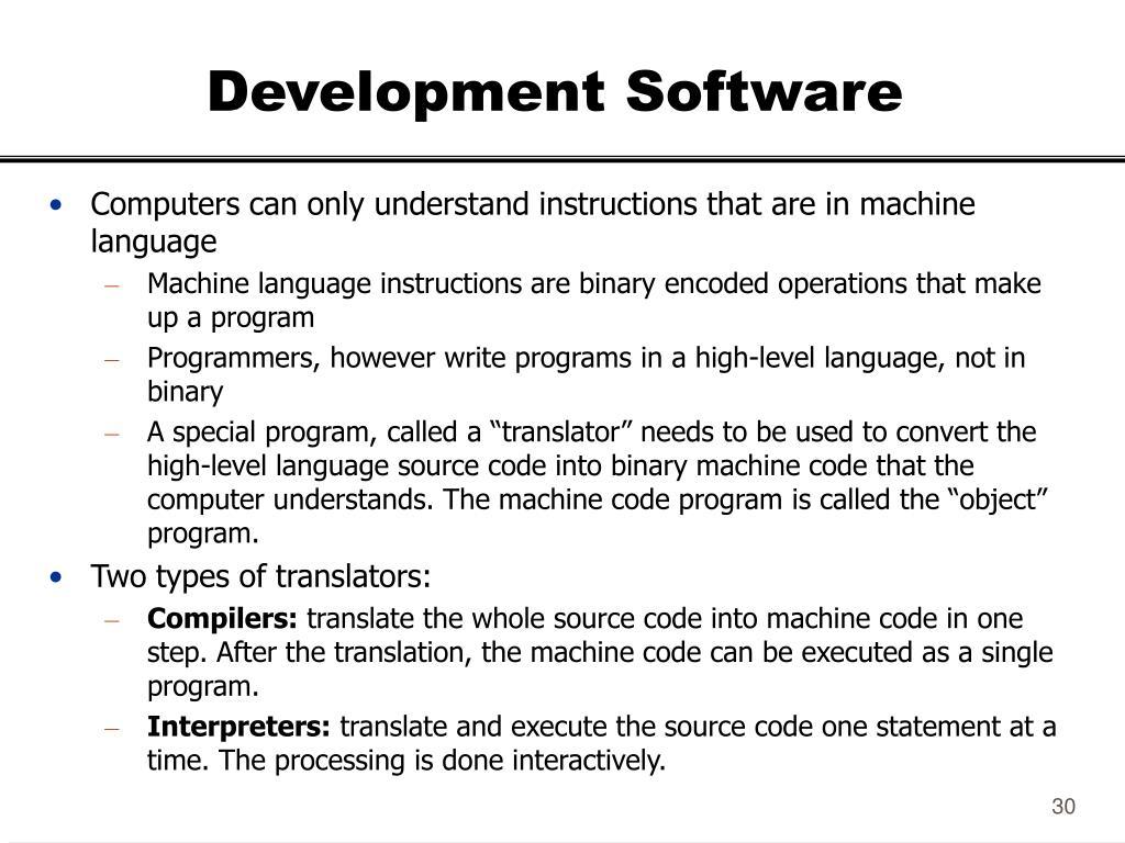 Development Software