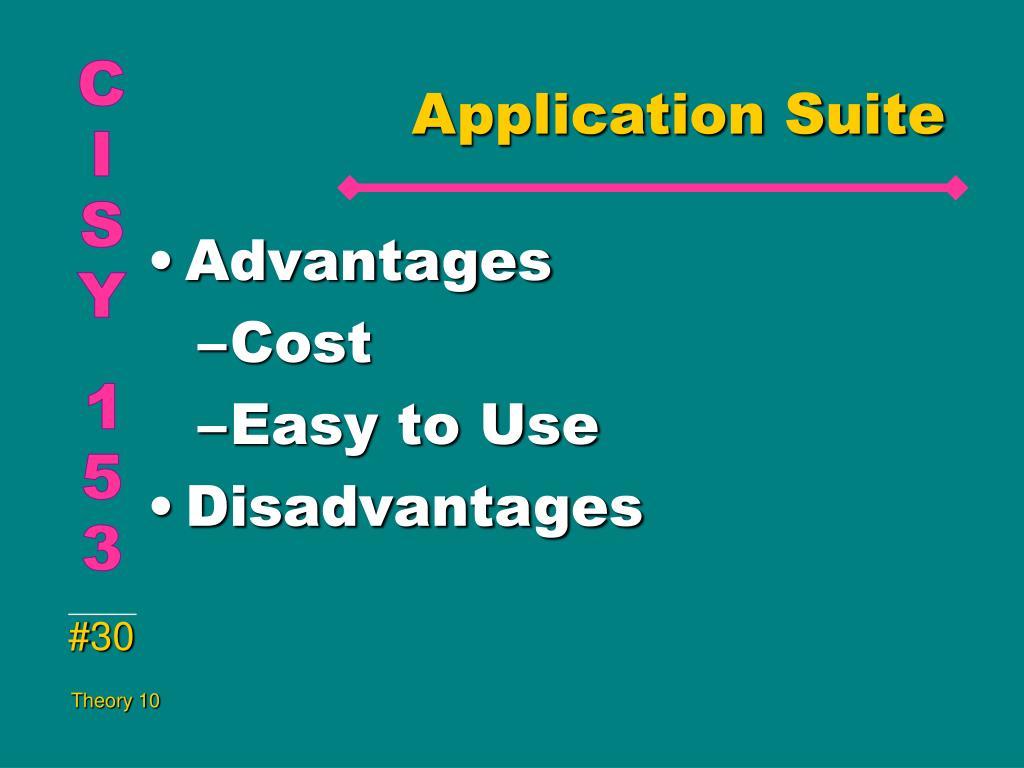 Application Suite