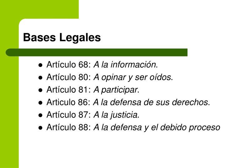 Artículo 68: