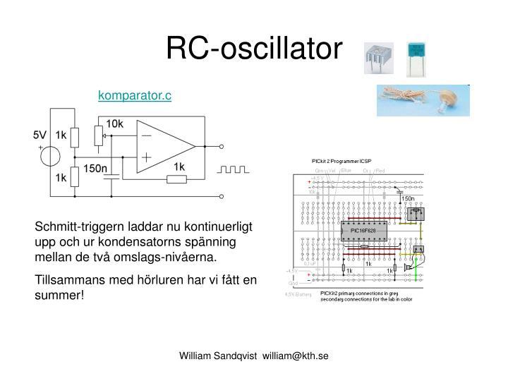 RC-oscillator