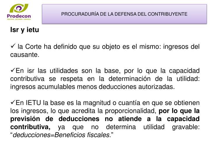 PROCURADURÍA DE LA DEFENSA DEL CONTRIBUYENTE