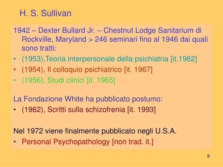 H. S. Sullivan