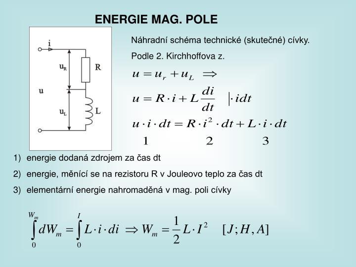 ENERGIE MAG. POLE