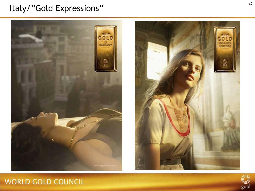 "Italy/""Gold Expressions"""