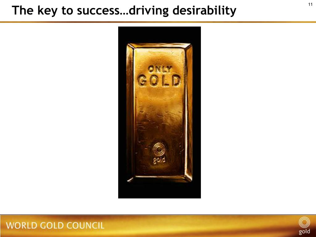 The key to success…driving desirability