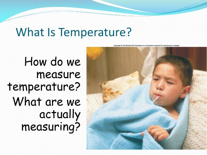 What is temperature