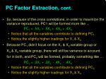 pc factor extraction cont1