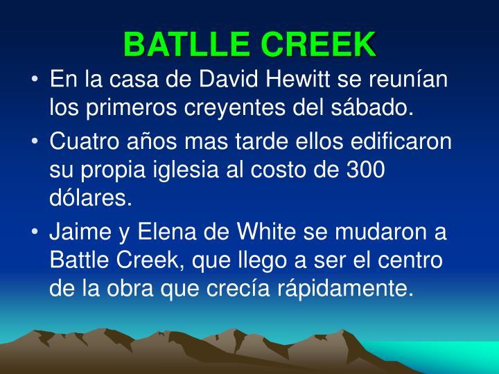 BATLLE CREEK