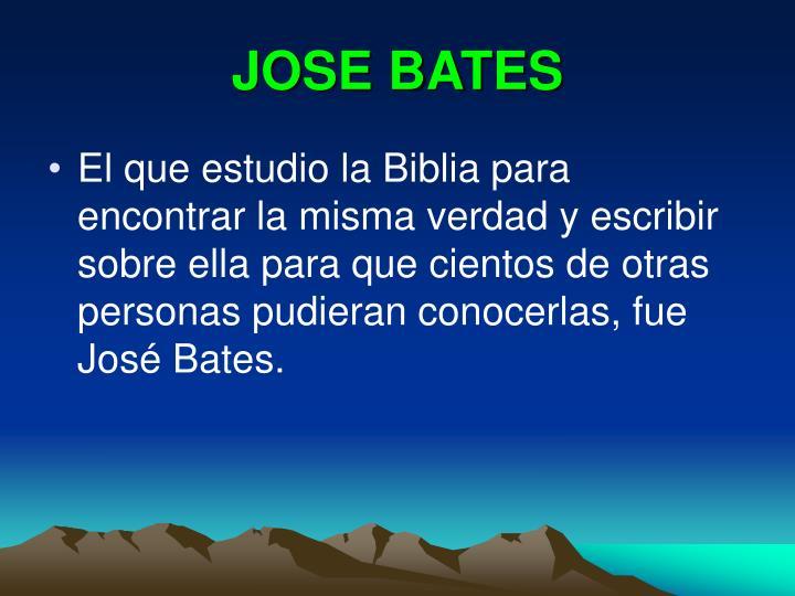 JOSE BATES